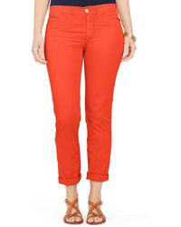 Ralph Lauren Chino Pant orange - Lyst