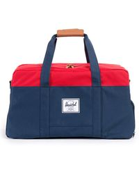 Herschel Supply Co. Navy Keats Two-Tone Weekend Bag - Lyst
