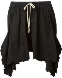 Rick Owens 'Rack' Shorts - Lyst