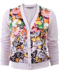Clover Canyon - Butterfly Petals Cardigan - Lyst