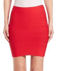 BCBGMAXAZRIA | Knit Pencil Skirt | Lyst