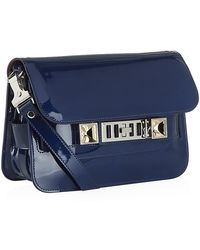 Proenza Schouler Patent Ps11 Mini Shoulder Bag - Lyst