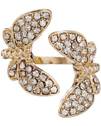Asos Double Butterfly Ring - Lyst