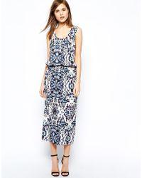 Y.a.s Saya Maxi Dress in Print - Lyst