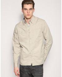 Gap | Khaki Work Shirt | Lyst