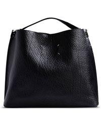 Maison Margiela Medium Leather Bag - Lyst