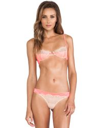 Love Haus By Beach Bunny Lovely Eyelash Bra - Lyst