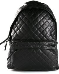 Stampd' Black Quilted Backpack - Lyst