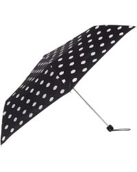 Lulu Guinness | Lips Print Lined Superslim Umbrella | Lyst