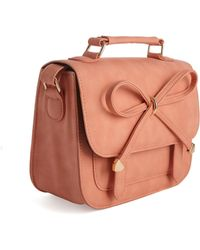 Asos Bow Satchel Bag - Lyst