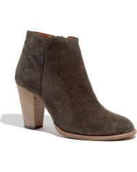Madewell The Hadley Boot in Suede - Lyst