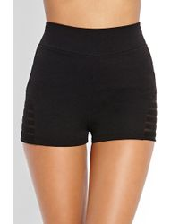 Forever 21 Streetchic Knit Shorts - Lyst