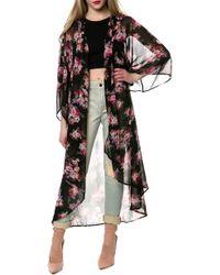 Reverse The Sheer Kimono - Lyst