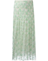 Christopher Kane Lace Skirt - Lyst