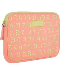 Marc Jacobs Dynamite Mini Tablet Zip Case - Lyst