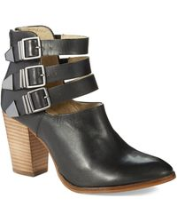 Seychelles Haywire Strapped Ankle Boots - Lyst