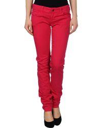 Armani Jeans Denim Trousers - Lyst