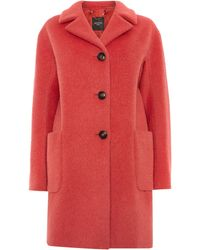 Max Mara Brera Alpace 3 Button Coat - Lyst