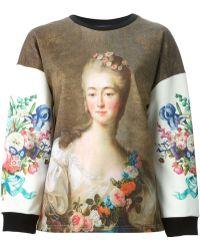 Emanuel Ungaro | Madame Du Barry-Print Sweatshirt | Lyst