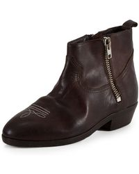 Golden Goose Deluxe Brand Brown Viande Boot - Lyst