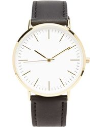Forever 21 - Faux Leather Analog Watch - Lyst