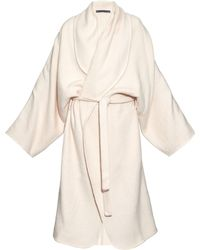 Denis Colomb - Hand-woven Cashmere Cardigan - Lyst
