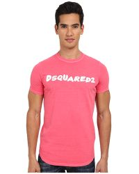 DSquared2 Logo Sexy Slim Fit Tee - Lyst