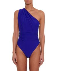 Preen By Thornton Bregazzi - Plaza One-Shoulder Swimsuit - Lyst