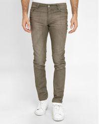 DIESEL | Brown Sleenker Skinny Jeans | Lyst