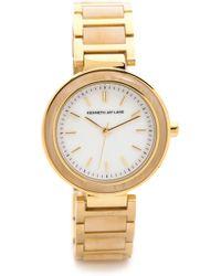 Kenneth Jay Lane - Slim Bracelet Watch - Lyst