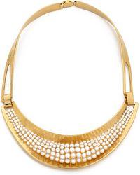 Aurelie Bidermann Cheyne Walk Necklace - Gold - Lyst