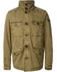 Diesel Military Style Jacket - Lyst