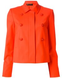 Versace R Zipped Jacket - Lyst