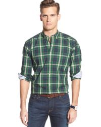Tommy Hilfiger Nelson Plaid Shirt - Lyst