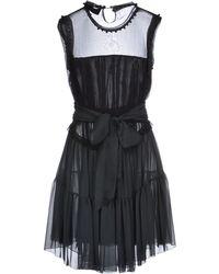 D&G Green Short Dress - Lyst
