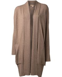 Michael Kors Long Cardigan - Lyst