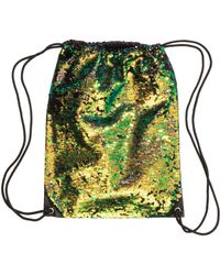 H&M - Sequined Backpack - Lyst