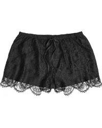 La Perla Primrose Lace Shorts - Lyst
