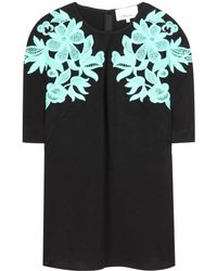 3.1 Phillip Lim Embroidered Crepe Top - Lyst