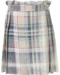 Vivienne Westwood Anglomania Pleated Tartan Skirt - Lyst