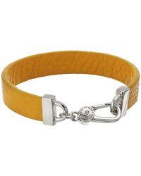 Marc By Marc Jacobs Key Items Simple Leather Bracelet - Lyst