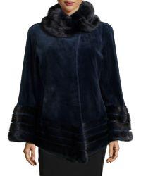 Gorski Sheared Mink Fur Jacket - Lyst