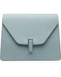 Valextra Isis Leather Clutch - Lyst