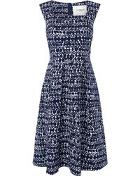 LK Bennett Volsa Printed Dress - Lyst