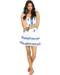 Denim & Supply Ralph Lauren Embroidered Sleeveless Dress - Lyst