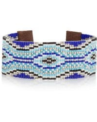 Chan Luu - Beaded Leather Bracelet - Lyst