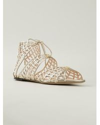 Charlotte Olympia 'Miss Muffet' Sandals - Lyst