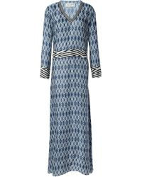 Antonia Zander - 'bari' Long Dress - Lyst