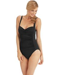 La Blanca Solid Sweetheart One Piece Swimsuit - Lyst