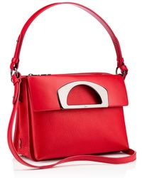 Christian Louboutin Red Passage Messenger - Lyst